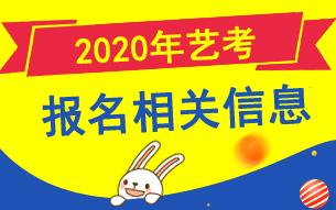 2020年高考艺术类专业报名信息汇总