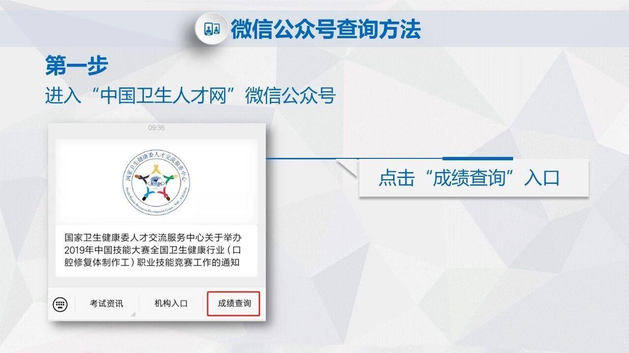 中国卫生人才网成绩查询系统