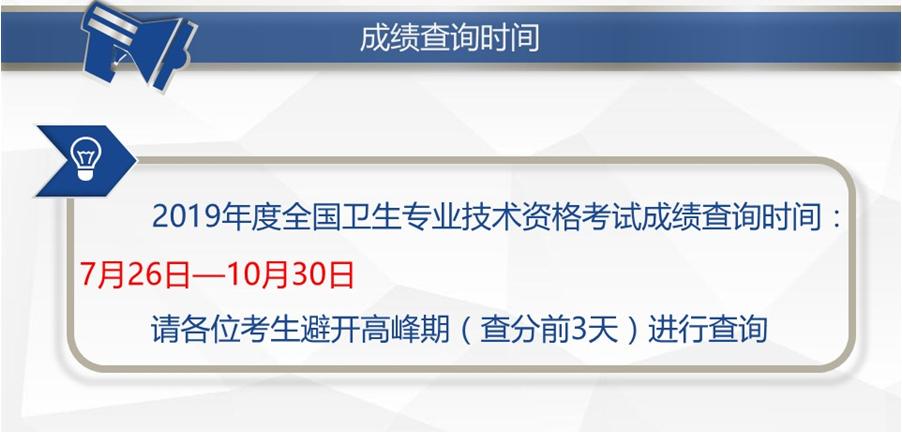 中国卫生人才网2019年初级护师成绩查询说明 6