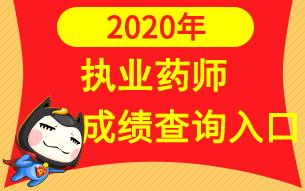 中国人事考试网2020年执业药师成绩查询入口