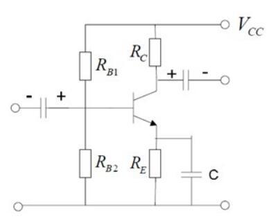 (1 β) r be)   答案:c   解析:单管放大电路ucc 直流电源两端电压